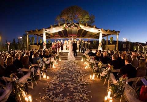 A Rose Designs Events: Outdoor Wedding Ceremonies