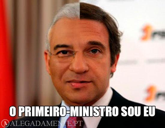 Alegadamente: Imagens de António Costa e Passos Coelho fundidos num só – O Primeiro-Ministro Sou Eu!!