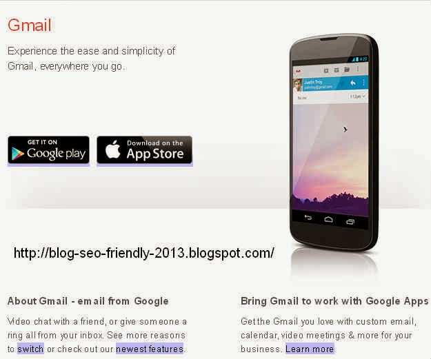 email dari gmail blog seo friendly