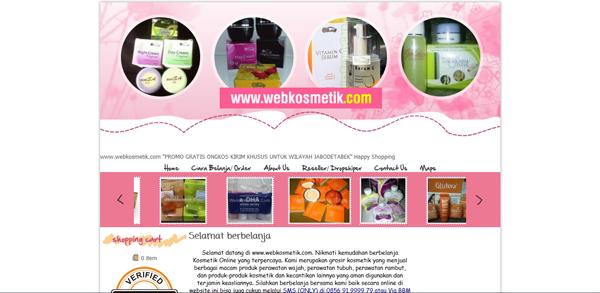 Webkosmetik.com Jual Kosmetik Aman Terpercaya