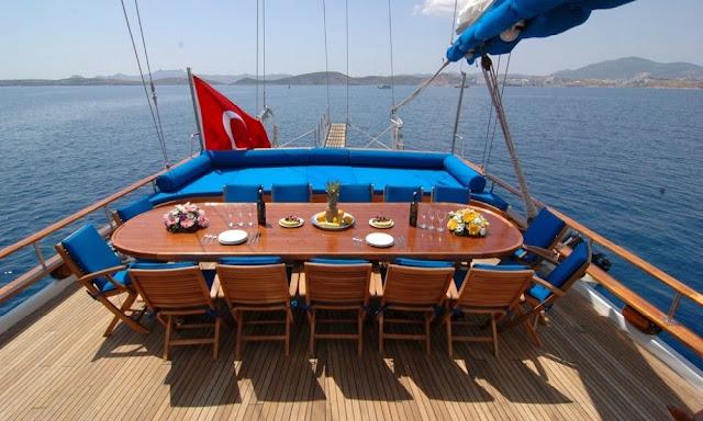 alquiler de goletas en Turquia. Alquiler de goletas baratas en Turquía