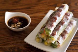 Jicama Fresh Rolls Recipe (Bò bía) 1
