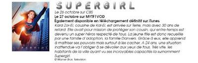 Supergirl sur MYTF1VOD