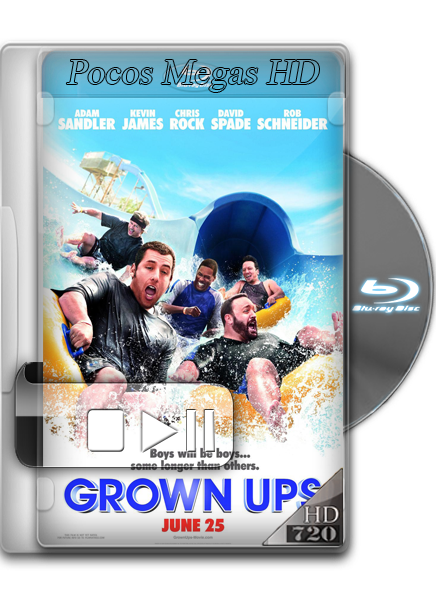 Niños grandes [BrRip 720p] [Audio Dual] [Latino/Ingles] [Año 2010]