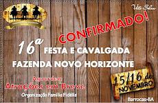 CAVALGADA DO PARQUE NOVO HORIZONTE