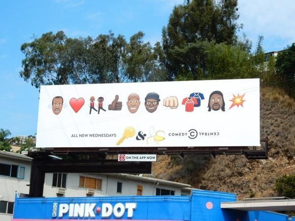 Key & Peele final season 5 emoji billboard