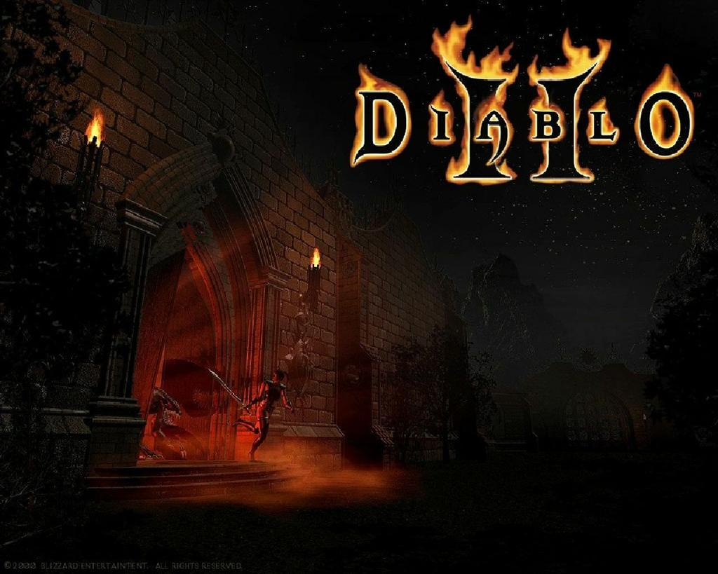 Diablo HD & Widescreen Wallpaper 0.0501790087010978