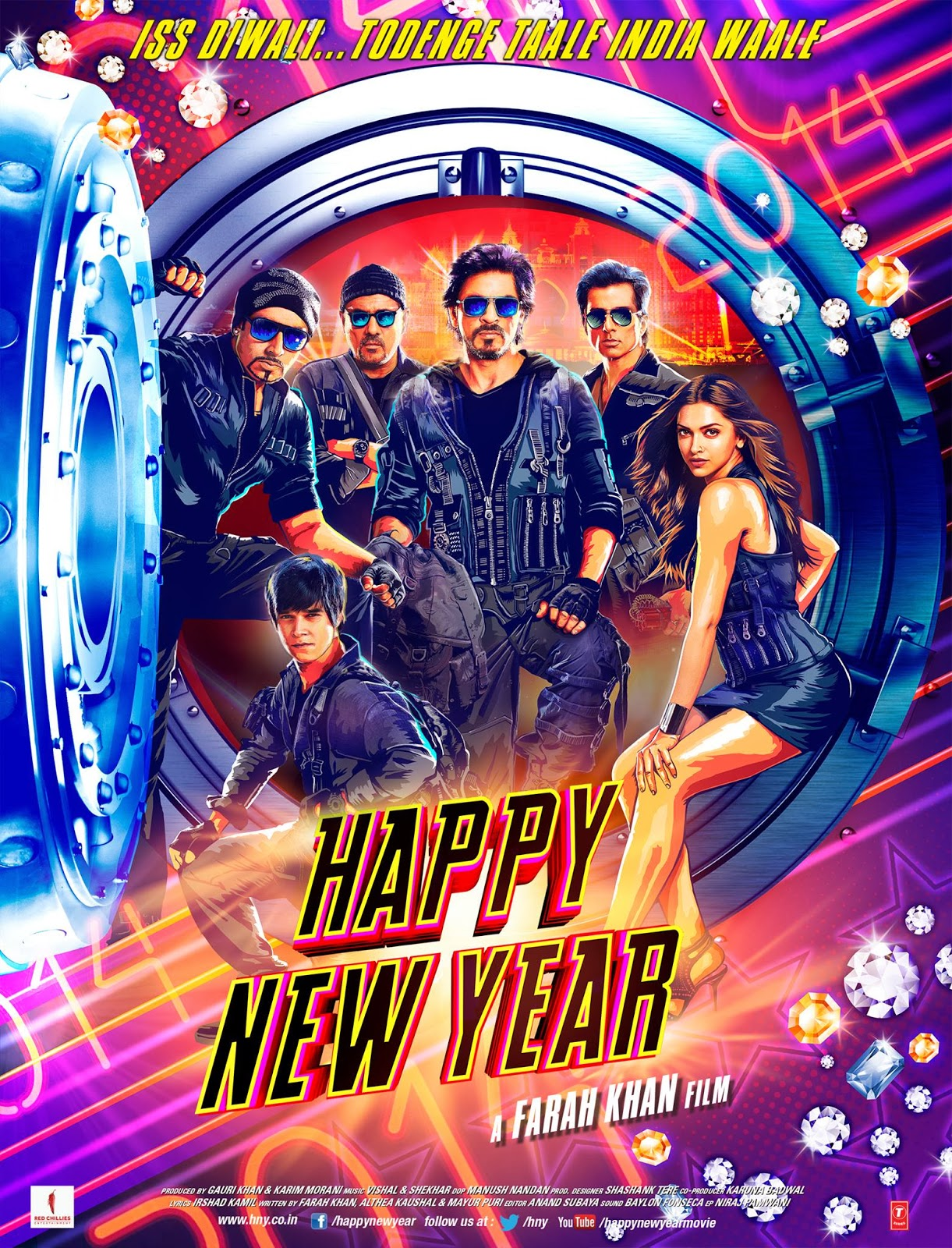 Happy New Year (2014) Poster