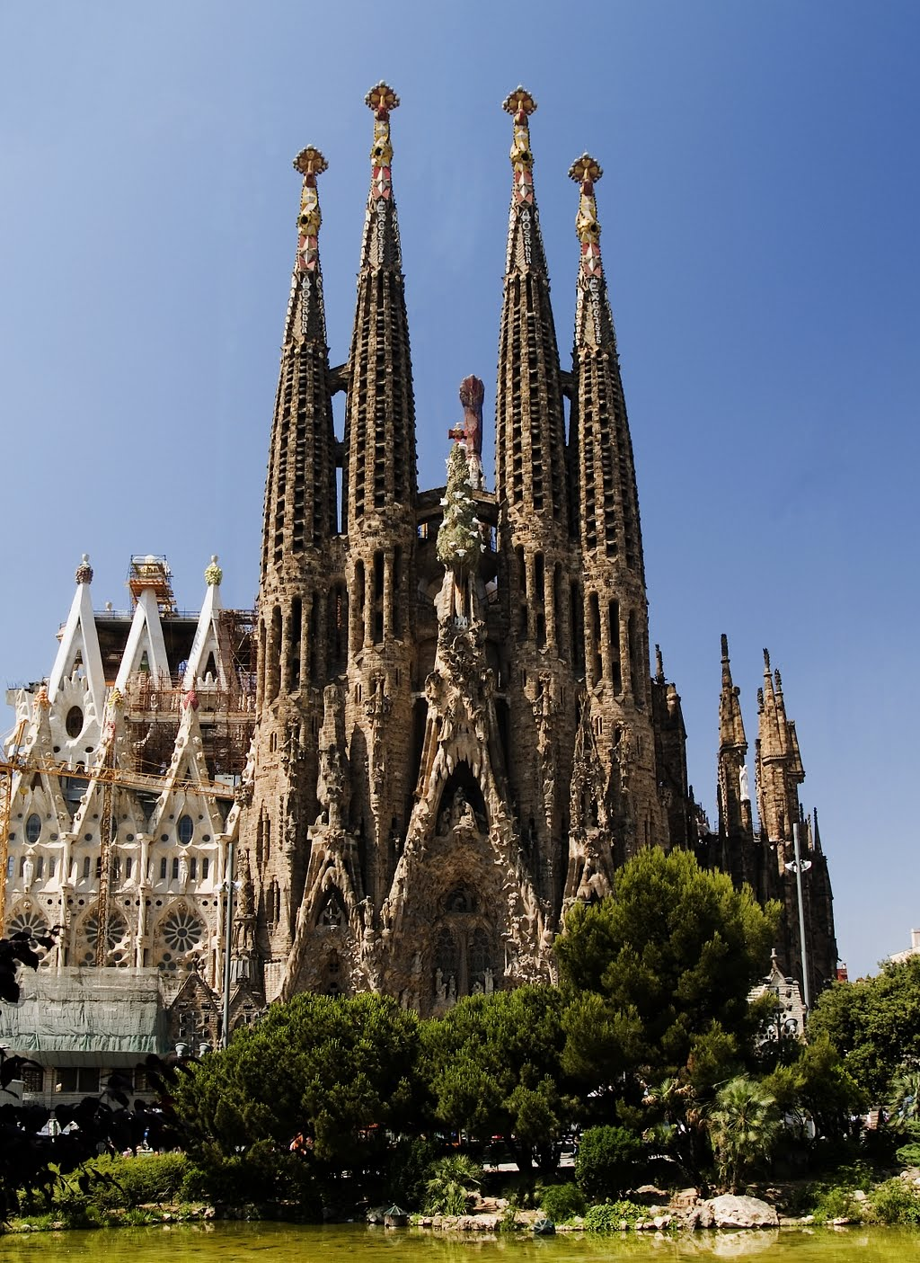 sagrada familia barcelona spain world travel destinations