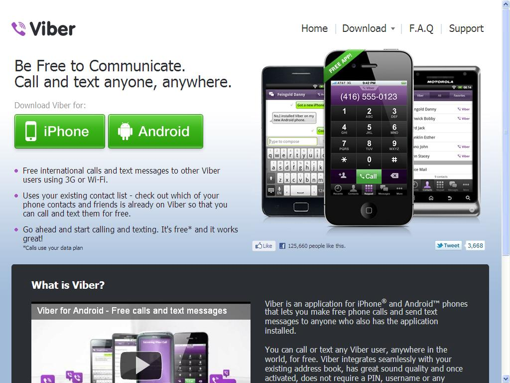 free download viber app for android phone