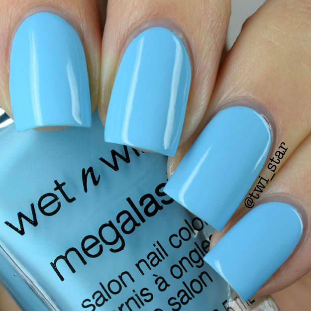 Wet N Wild California Dreaming SKy Me Mine polish swatch