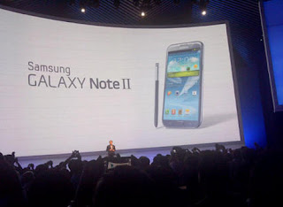 Harga dan Spesifikasi Samsung Galaxy Note II