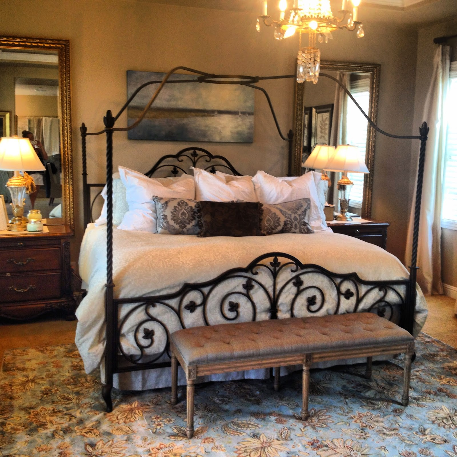 Decorating On A Dime A Peaceful Bedroom More With Less