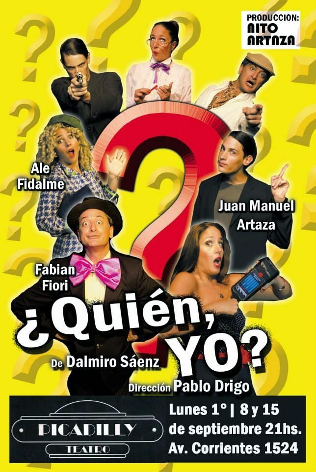 ¿QUIÉN, YO? de Dalmiro Sáenz