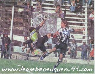 A 10 años del debut goleador de Germán Alecha