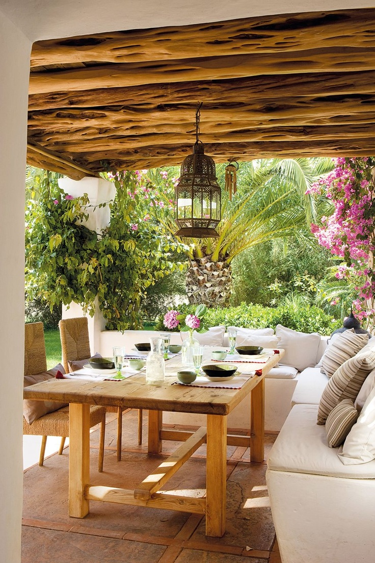 Lunch latte summer living vive l 39 t - Madera para porches ...