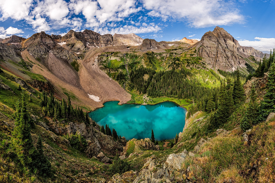 Blue Lakes Pass, USA