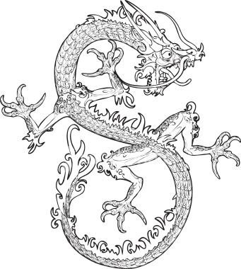 Chinese Tattoos on Chinese Dragon Tattoo