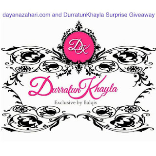 Dayana and DurratunKhayla Surprise Giveaway