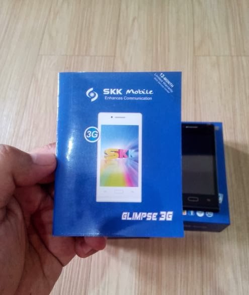 SKK Mobile Glimpse 3G Manual