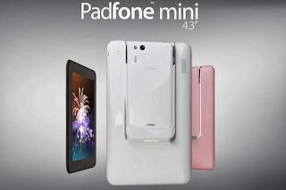 Spesifikasi dan Harga Asus PadFone mini Terbaru