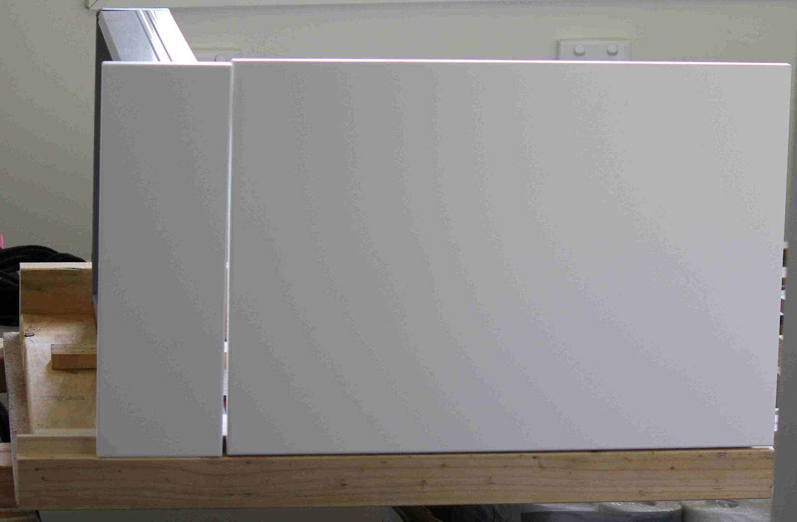 Mounting Hole Dimensions In Case You Need To Make A Custom Cabinet. Full resolution  snapshot, nominally Width 1600 Height 1048 pixels, snapshot with #5E4B38.