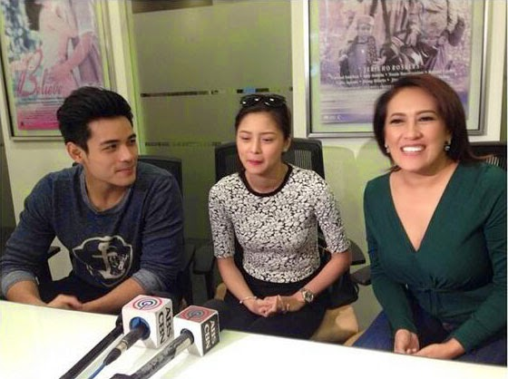 Xiam Lim, Kim Chiu, and Ai-Ai delas Alas in Past Tense