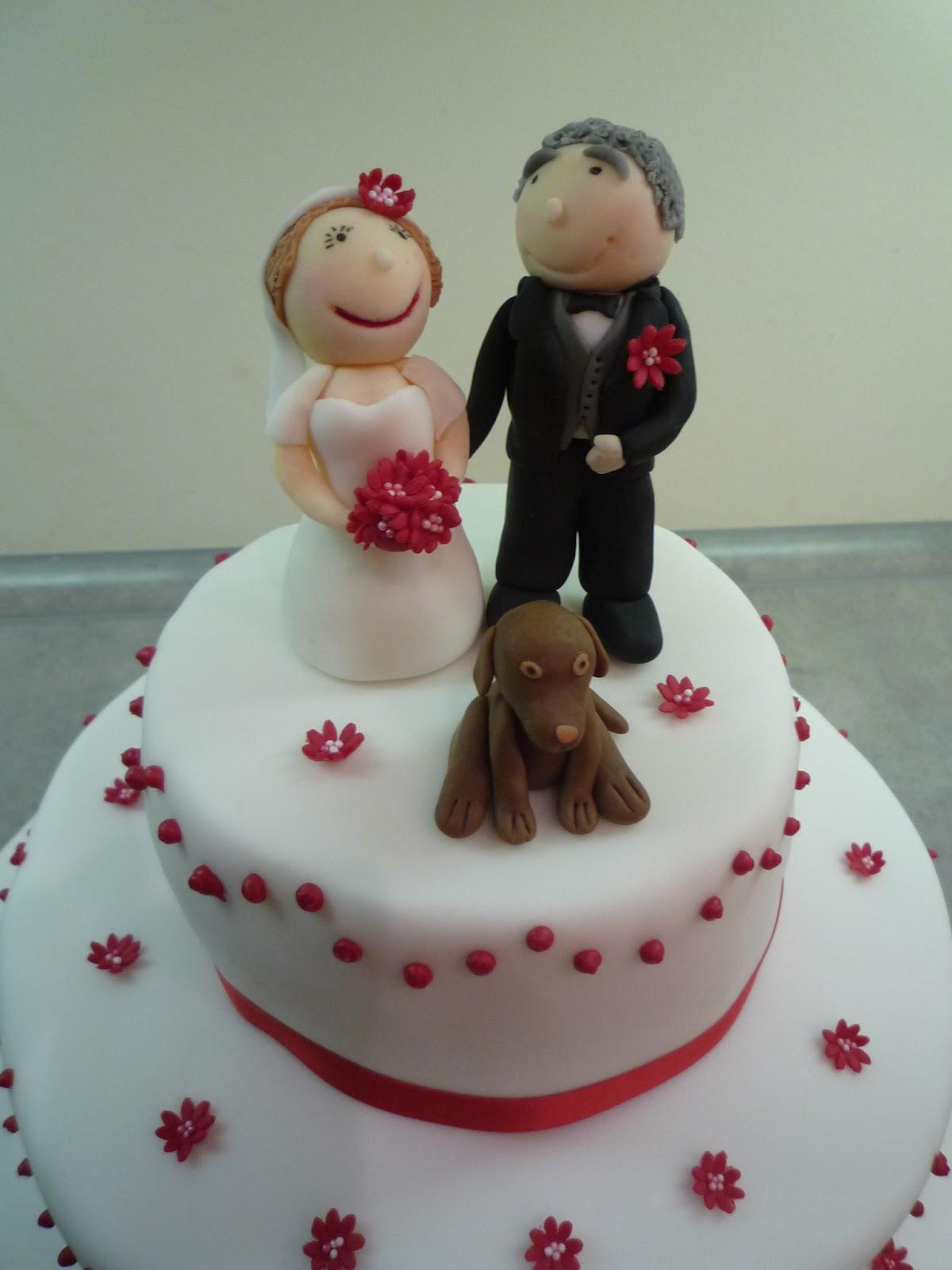 Hochzeitstorte, Motivtorte, Torte, 40. Hochzeitstag, Hochzeit, Rubinrote Hochzeit