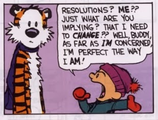 My Resolutions For 2014...