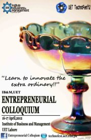 ENTREPRENEURIAL COLLOQUIUM - Unleash The Next BIG Thing