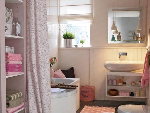 Banheiro feminino morando sozinha for Banos rusticos con encanto