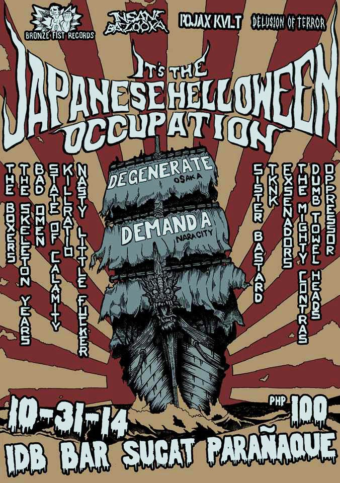 It's The Japanese HELLoween Occupation!!!