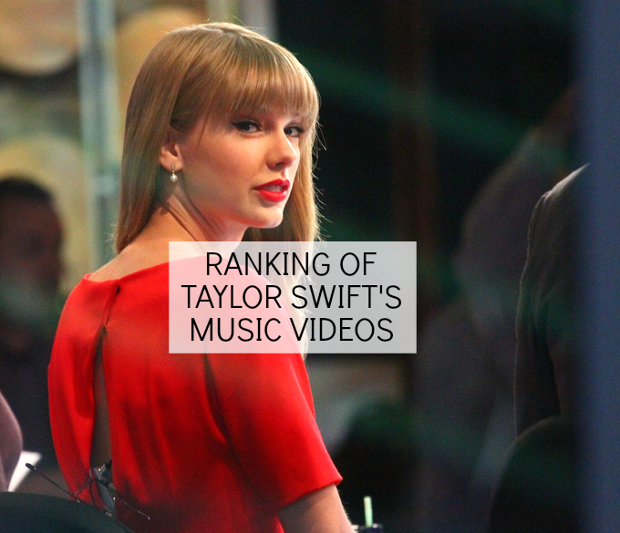 ranking of taylor swift's music videos