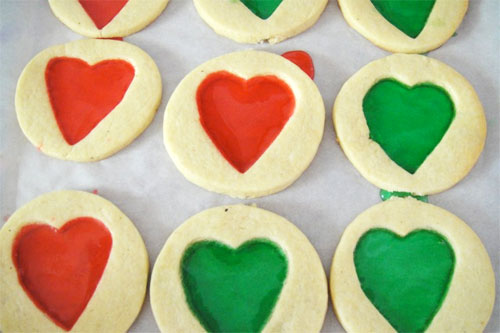 Sasaki time stained glass cookies recipe for Stained glass cookie recipe