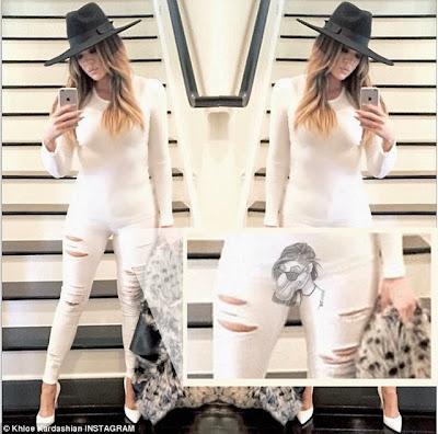 Khloe Kardashian big camel toe cameltoe