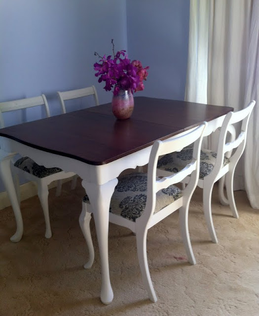 French Style Dining table sydney painted furniture