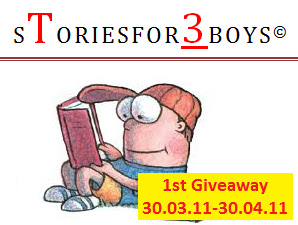 1st giveaway stories for 3 boys