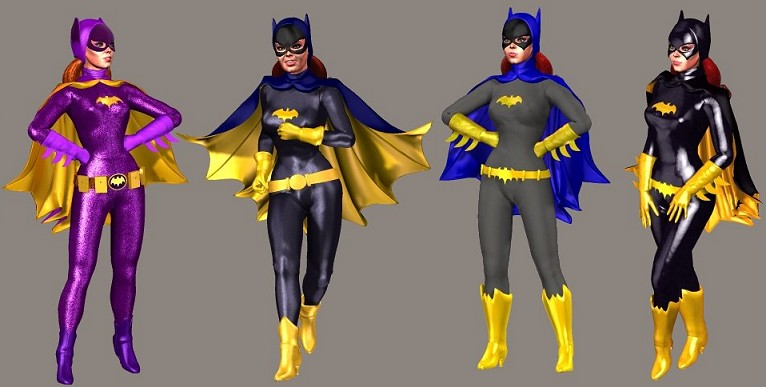 Batgirl Superhero Girls