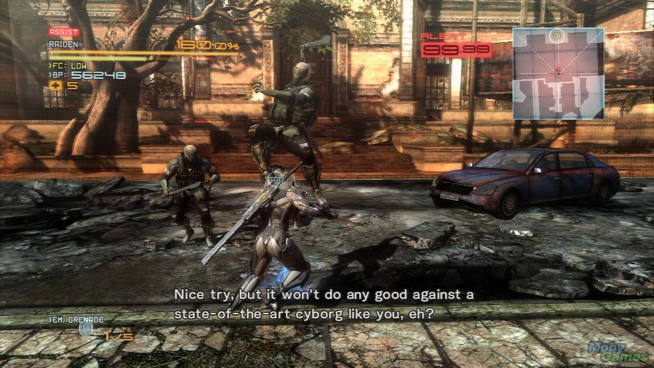 Download Metal Gear Rising Revengeance Single Link For PC
