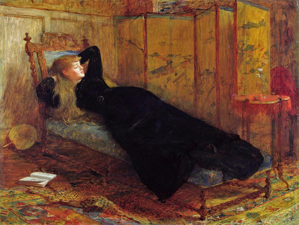 victorian british painting sir william quiller orchardson. Black Bedroom Furniture Sets. Home Design Ideas