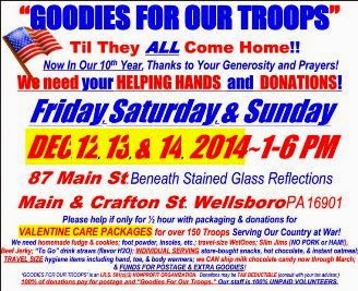 12-12/13/14 Goodies For Our Troops