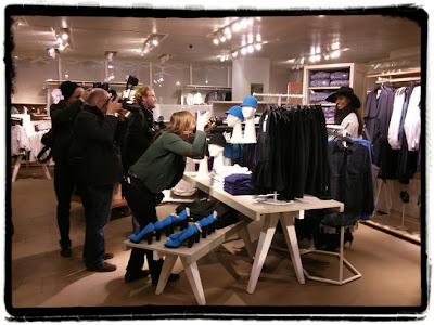 H&M Alsterhaus Hamburg - Shoppingnight / Grazia / Sara Nuru
