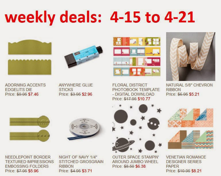 Stampin'UP! Deal of the Week