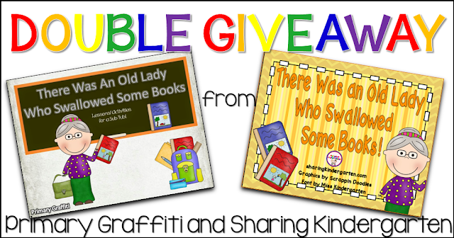 Double Giveaway from Primary Graffiti and Sharing Kindergarten