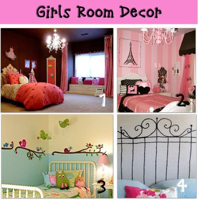 decorations for girls room pictures gallery of home decoration cute girl room decor - Creative Girls Rooms