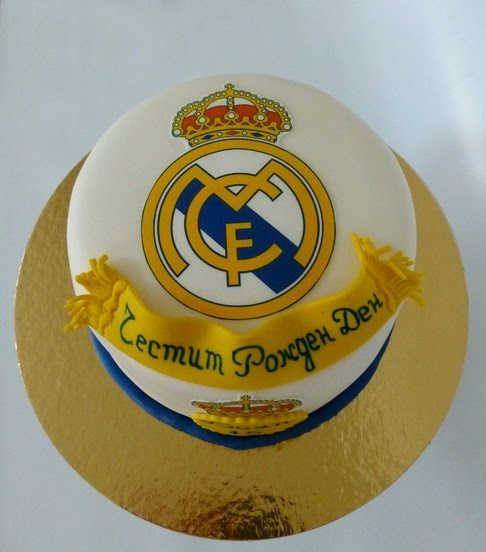 Cake Images Real : CakeSophia: Real Madrid cake