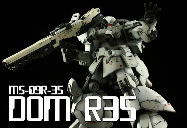 hgbf dom r35 gundam model kit