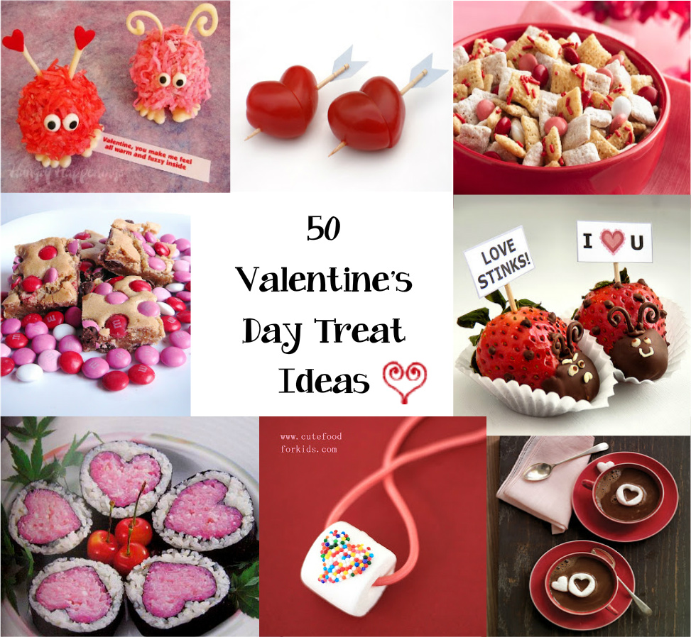 Cute Food For Kids?: 50 Treat Ideas for Valentine