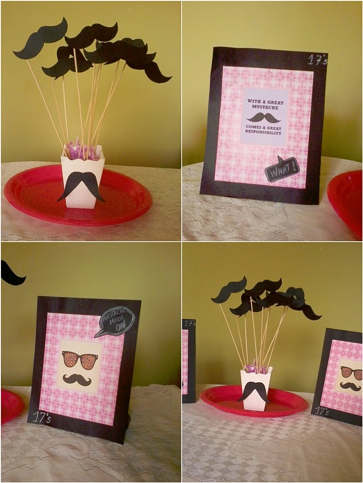 moustache bash ideas diy