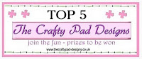 WOW!  My Easter Card Won Top 5!